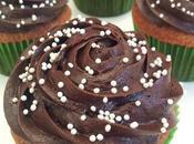 Cupcakes topping fraise chocolat