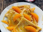 Crêpes comme Suzette confiture d'oranges amères histoire rafraîchir Chandeleur