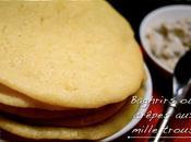 Baghrirs crêpes mille trous pour l'apéritif dessert