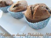 Muffins chocolat Philadelphia Milka