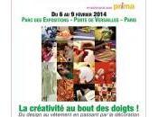 L'Aiguille Fête 2014 créativité bout doigts février, Porte Versailles
