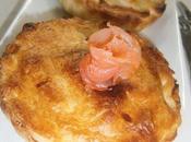 Tourte philadelphia saumon-aneth poireaux