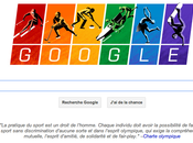 Google couleurs drapeau