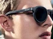 Dior Homme lunettes soleil gainées cuir
