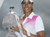 Cheyenne Woods suit traces Tigre