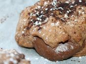 goûter mercredi c'est....Cookies chocolat noix coco, fourrés Nutella!
