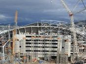 Tribune Jean Bouin Stade Vélodrome mécano béton termine