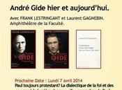 André Gide hier aujourd'hui