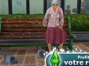 Sims Gratuit iPhone vieilli, profitez votre retraite