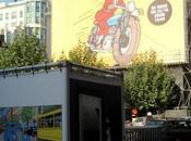 C'était 2011 Tintin opération street marketing