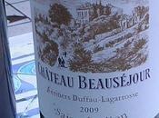 Saint Emilion Beauséjour héritiers Duffau-Lagarrosse 2009 Castillon-Côtes Bordeaux Domaine 2006