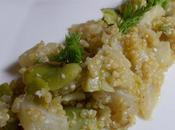 Quinoa fenouil fèves
