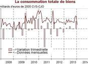 Fort recul consommation ménages français janvier