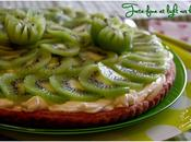 Tarte fine light kiwis