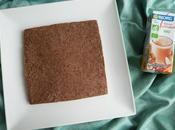moelleux hyperprotéiné végan praliné coco fèves cacao avec d'avoine psyllium (sans beurre sans oeufs)