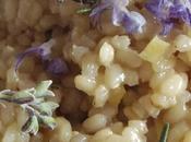 Fleurs romarin (risotto citrons romarin, butternet gâteau mars)
