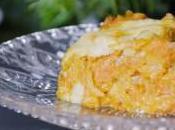 Gratin butternut lardons