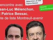 Jean-Luc Mélenchon côté Montreuil avenir vendredi mars