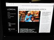 """étais """"Beauty Lab"""" L'Oréal l'Afrique beauté noire."""