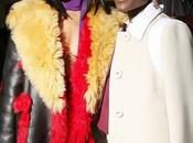 Rihanna Lupita Nyong'o Fashion Show Paris 05.03.2014