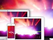 nuits concerts live partir mars votre iPhone, iPad,