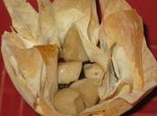 Paniers filo confit d'oignons boudin blanc