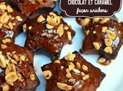 Minis muffins chocolat caramel beurre salé façon snickers