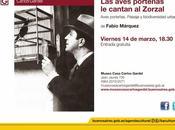 livre diversité ornithologique Buenos Aires chez Zorzal Criollo l'affiche]