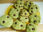 Cookies menthe chocolat (alias cookies shrek)