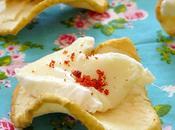 Amuse bouche facile Chips pomme Camembert