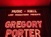 Gregory Porter Paris: talent générosité rendez-vous.