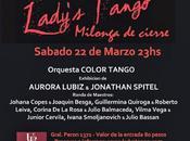 Milonga clôture pour Lady's Tango l'affiche]