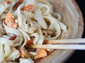 [wok] Nouilles Thaï poulet, épices lait coco