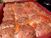 """Stuffed Pizza Rolls """"Boules pizza farcies"""""""