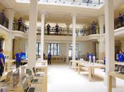 Carte animée Apple Store implantés dans monde