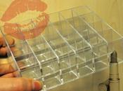 plan Rangements rouges lèvres Lipsticks holders