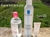 Routine soin visage Bioderma Roche Posay Avène