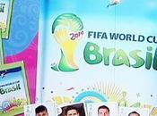 Présentation l'album Panini pour Coupe monde Brésil