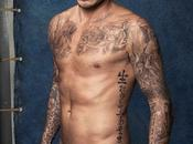 David Beckham fait dans maillots Bain avec H&M