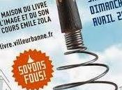 Avril 2014, rendez-vous pays merveilles grâce Fête livre jeunesse Villeurbanne