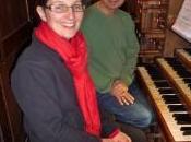 organistes Anne-Noëlle Perret Olivier Leguay ouvert saison d'orgue Nantua