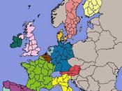 Régions mythe nombre taille