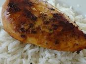 Escalope poulet, moutarde basilic