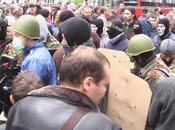 UKRAINE. Odessa (printemps russe): violents affrontements entre pro-russes Pravyi Sector