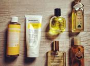 Yellow bodycare routine