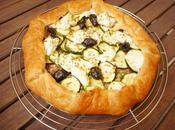 [Simple rapide] Tarte feuilletée courgettes, olives feta