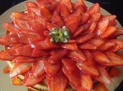 tarte fraises!
