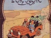 Tintin pays l'or noir, lecture parallèle