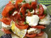 Tomates Mozza Basilic