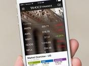 Yahoo Finance iPhone intègre français